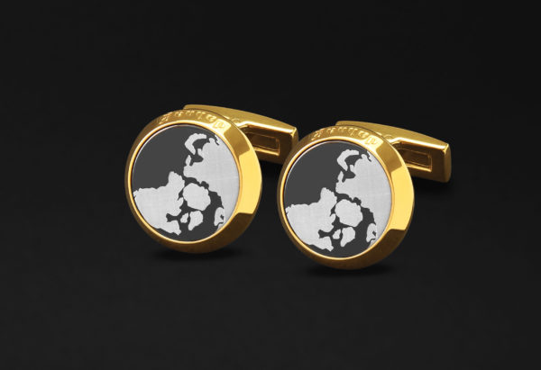 DAHNAG CUFFLINKS FOR MEN GOLD