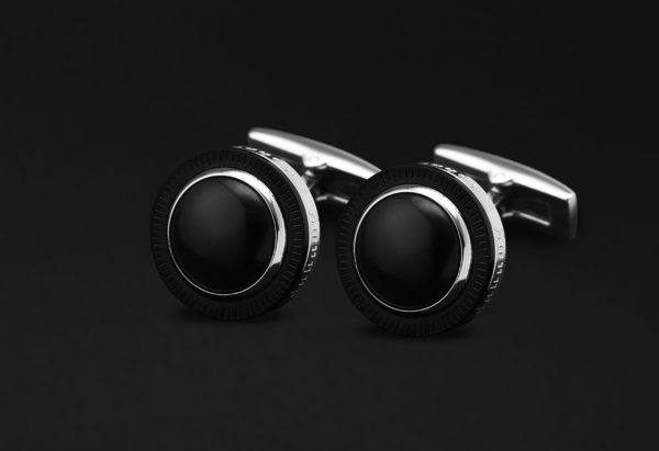 DAHNAG CUFFLINKS FOR MEN SILVER