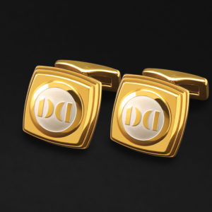CUFFLINKS FOR MEN GOOLD