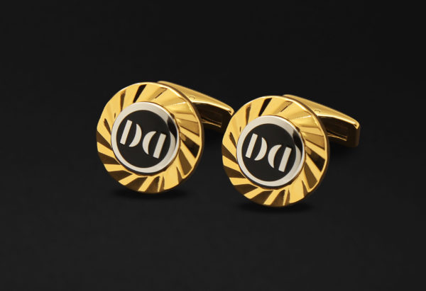 DAHNAG CUFFLINKS FOR MEN BLACK