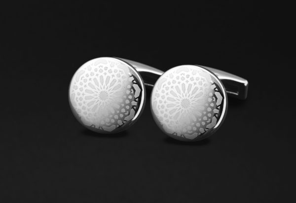 DAHNAG CUFFLINKS FOR ME SILVER