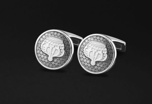 DAHNAG CUFFLINKS FOR MENSILVER