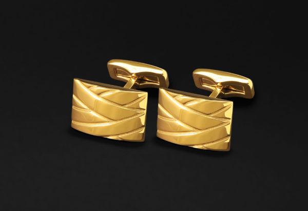 CUFFLINKS FOR MEN GOLD