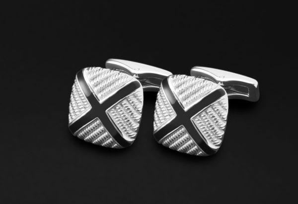 CUFFLINKS FOR MEN SILVER