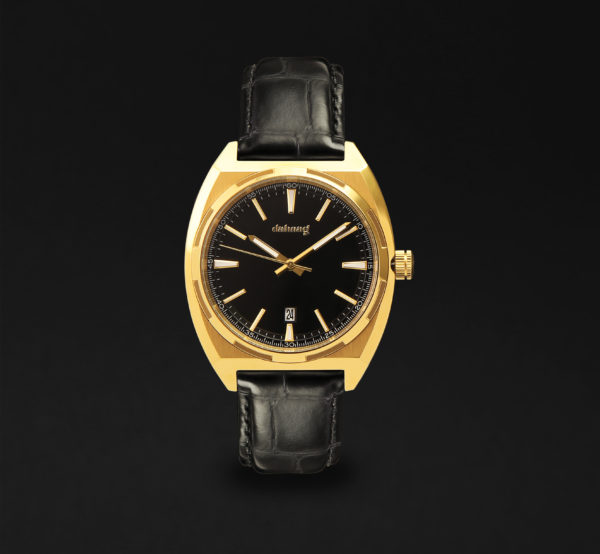 DAHNAG CASUAL WATCH FOR MEN LEATHER