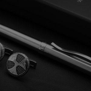 pen and cufflink