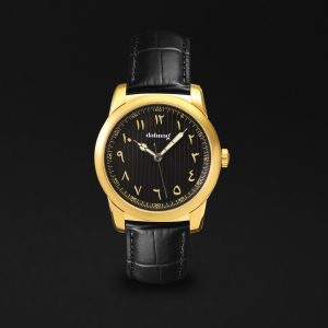 WATCH GOLD BLACK
